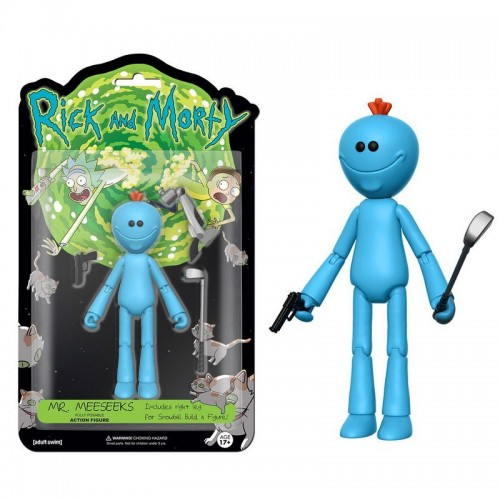 Funko Action Figure: Rick and Morty - Mr. Meeseeks / Фанко: Рик и Морти