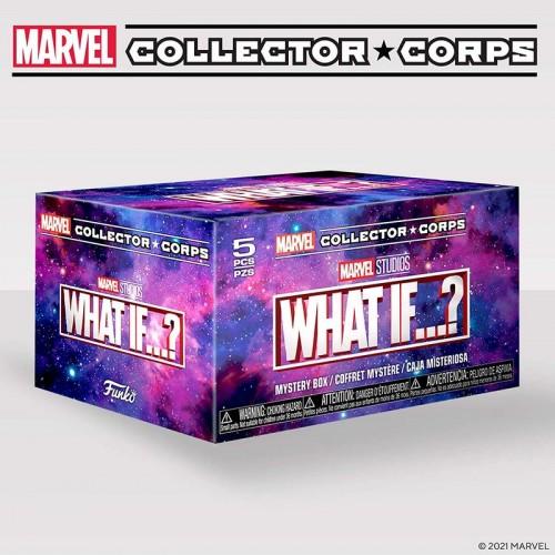 Funko Marvel Collector Corps What if? / Коробка Фанко Что, если?