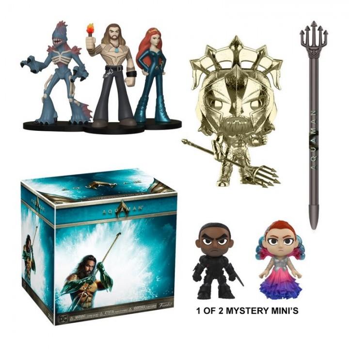 Funko DC Collectors - Aquaman Deluxe Box / Коробка Фанко Аквамен, dc001