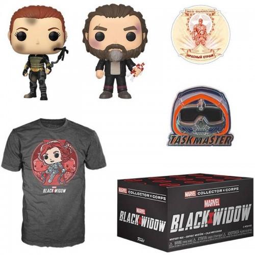 Funko Marvel Collector Corps - Black Widow Box / Коробка Фанко Чёрная Вдова