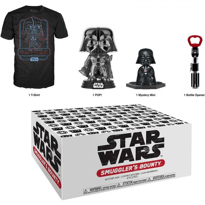 Funko Smuggler's Bounty Star Wars - Darth Vader Box / Коробка Фанко Звёздные войны - Дарт Вейдер, 41909