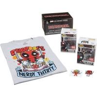 Funko Marvel Collector Corps Deadpool Nerdy 30 Years Box / Коробка Фанко Дэдпул 30-летие
