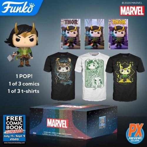 Funko Mystery Marvel - Loki Box / Коробка Фанко Локи