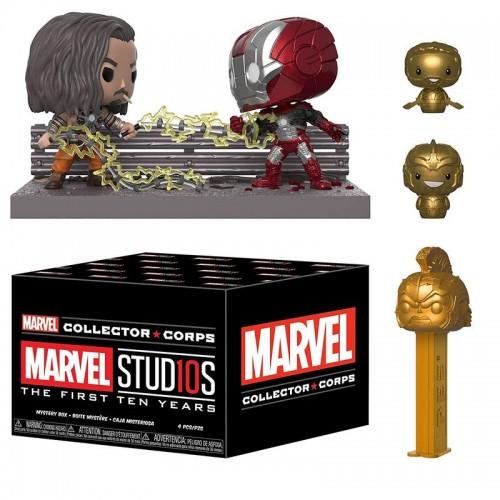 Funko Marvel Collector Corps - Studios 10 Years Box / Коробка Фанко Марвел 10-летие