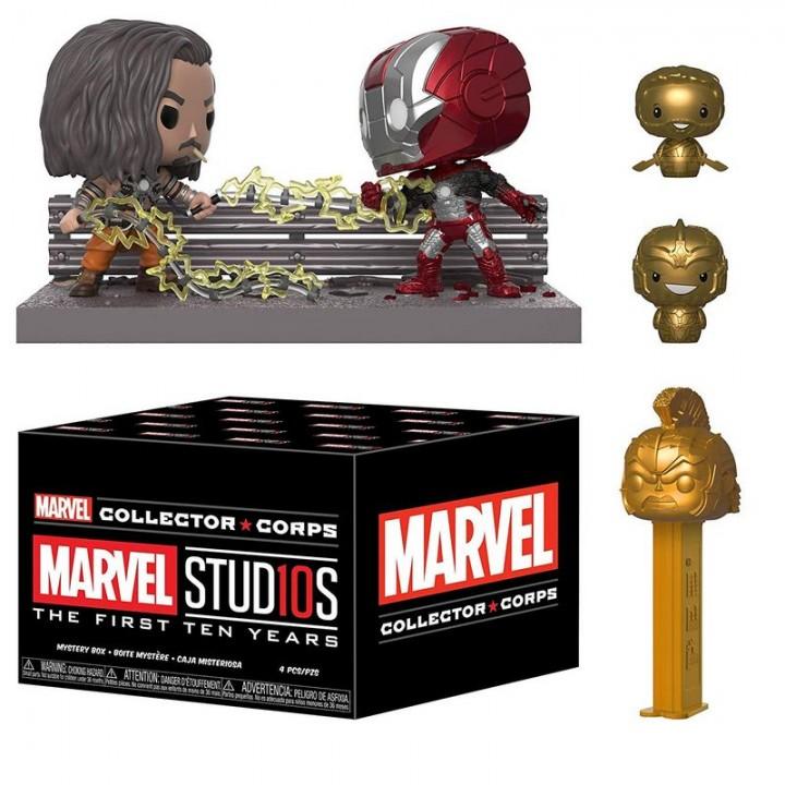 Funko Marvel Collector Corps - Studios 10 Years Box / Коробка Фанко Марвел 10-летие, 35564