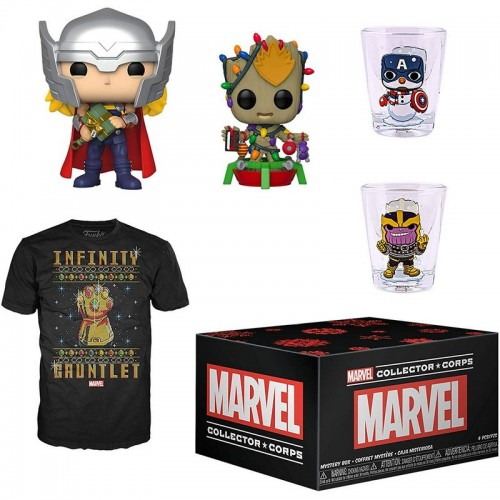 Funko Marvel Collector Corps - Holiday Box / Коробка Фанко Новогодний Марвел