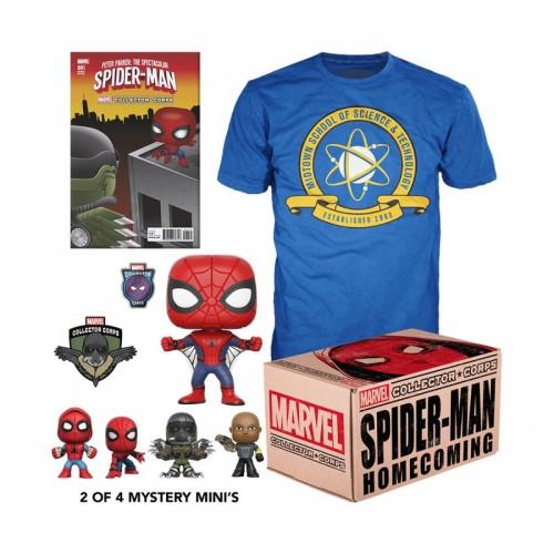 Funko Marvel Collector Corps: Spider-Man Homecoming Box / Коробка Фанко: Человек-паук: Возвращение домой