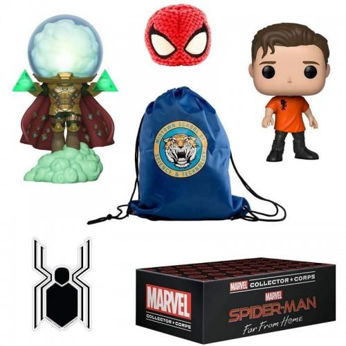Funko Marvel Collector Corps: Spider-Man: Far from Home Box / Коробка Фанко: Человек-паук: Вдали от дома