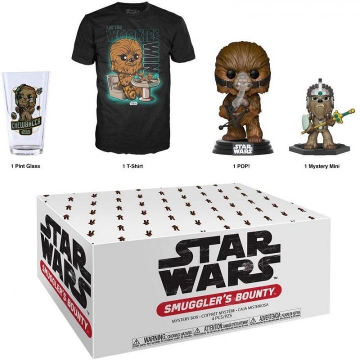 Funko Smuggler's Bounty Star Wars - Wookiee Box / Коробка Фанко Звёздные войны - Вуки (Чубакка), 41892