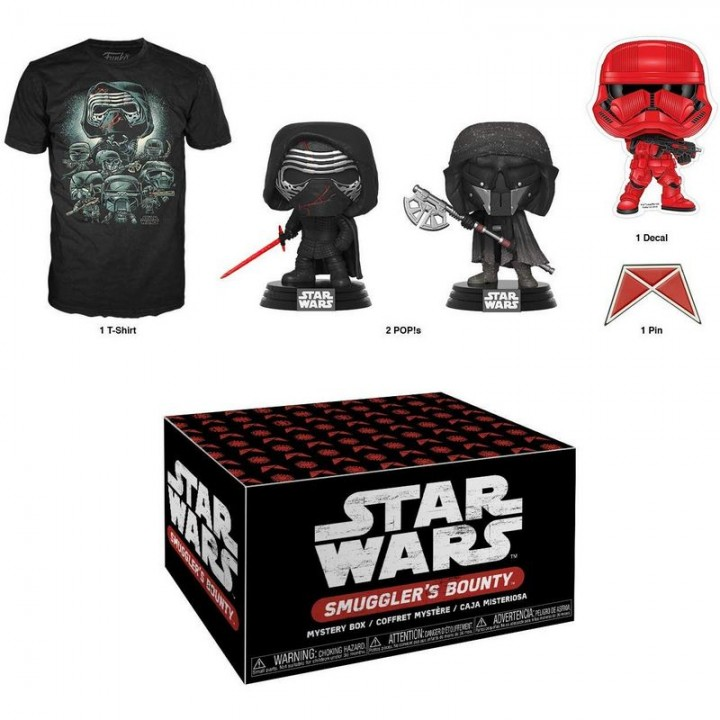 Funko Smuggler's Bounty Star Wars - Rise of Skywalker Box / Коробка Фанко Звёздные войны - Скайуокер Восход, 45576
