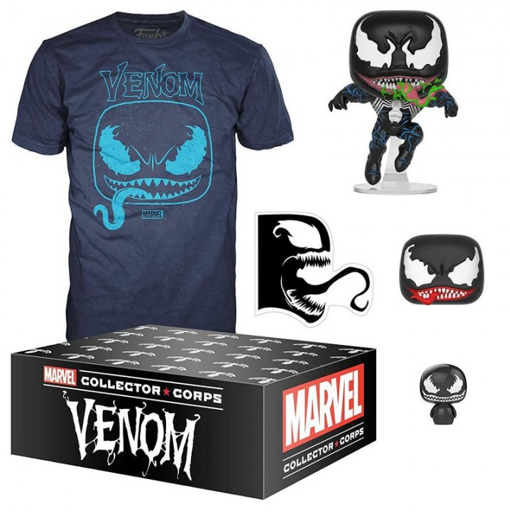 Funko Marvel Collector Corps: Venom Box / Коллекционный набор Фанко: Веном