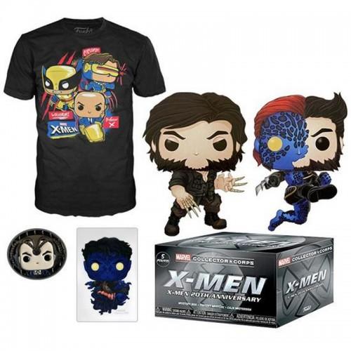 Funko Marvel Collector Corps X-Men 20th Annivesary Box / Коробка Фанко Люди Икс 20-летие
