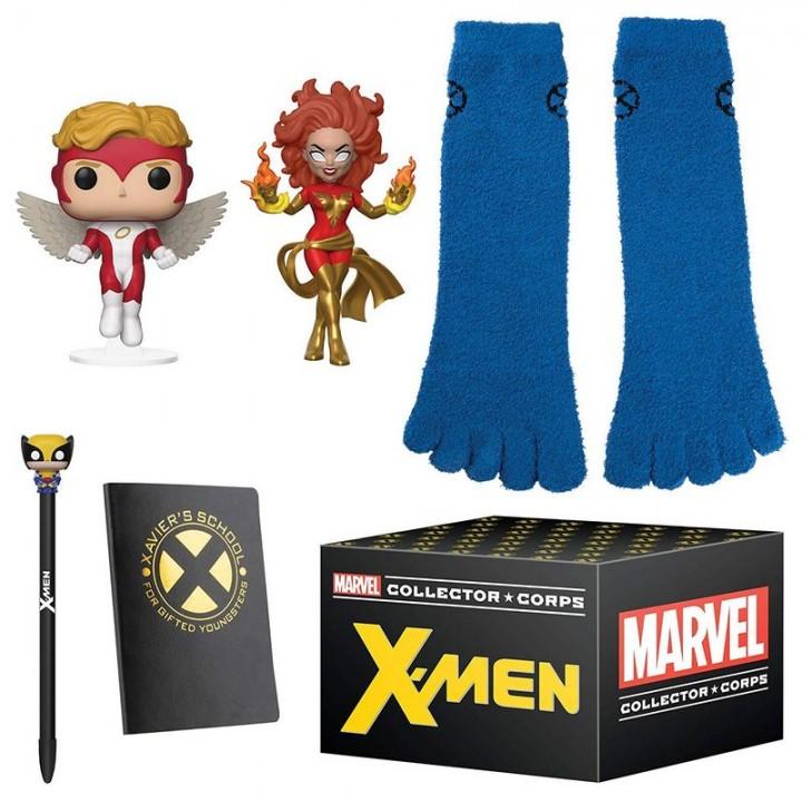 Funko Marvel Collector Corps X-Men - Dark Phoenix Box / Коробка Фанко Люди Икс - Тёмный Феникс, 36212