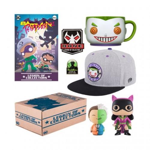 Funko DC Legion of Collectors: Batman Villains Box  / Коробка Фанко: Злодеи Бэтмена