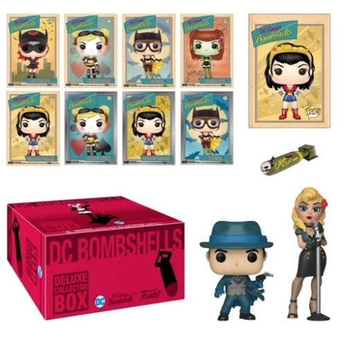 Funko DC Comics Bombshells Deluxe Collectors Box (limited) / Коллекционный набор Фанко: DC Comics Bombshells