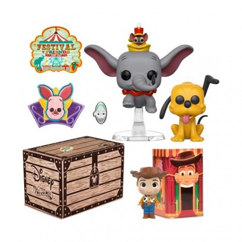 Funko Disney Treasures: Festival of Friends Box / Коробка Фанко: Дамбо и Тимоти К. Маус