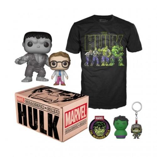 Funko Marvel Collector Corps: Hulk Box / Коробка Фанко: Халк