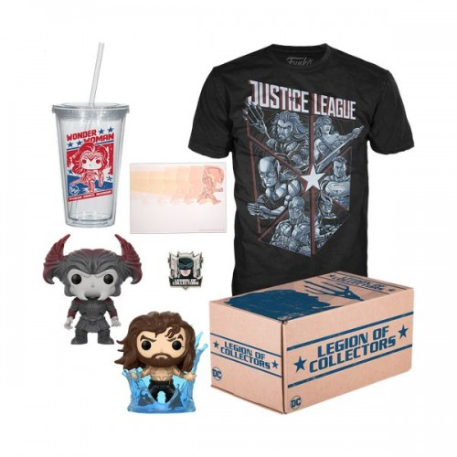 Funko DC Legion of Collectors: Justice League Box / Коробка Фанко: Лига справедливости