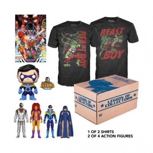Funko DC Legion of Collectors: Teen Titans Box / Коробка Фанко: Юные Титаны