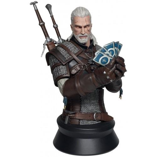 Фигурка Dark Horse Bust Witcher 3 - Geralt playing Gwent