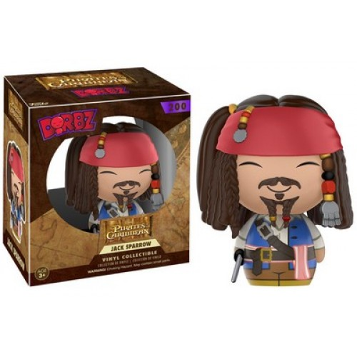 Funko Dorbz: Pirates of the Caribbean - Jack Sparrow / Фанко: Пираты Карибского моря - Джек Воробей