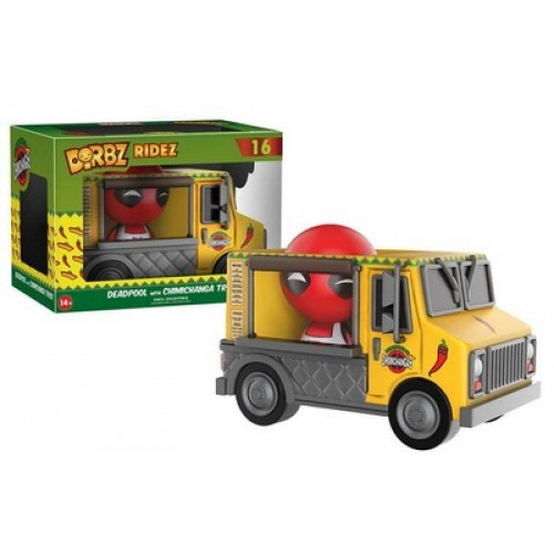 Funko Dorbz Ridez: Deadpool with Chimichanga Truck / Фанко: Дэдпул