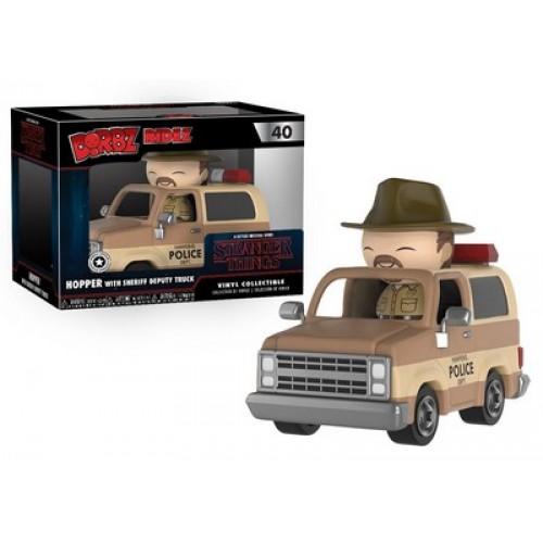 Funko Dorbz Ridez: Stranger Things - Hopper & Sheriff Deputy Truck / Фанко: Очень странные дела