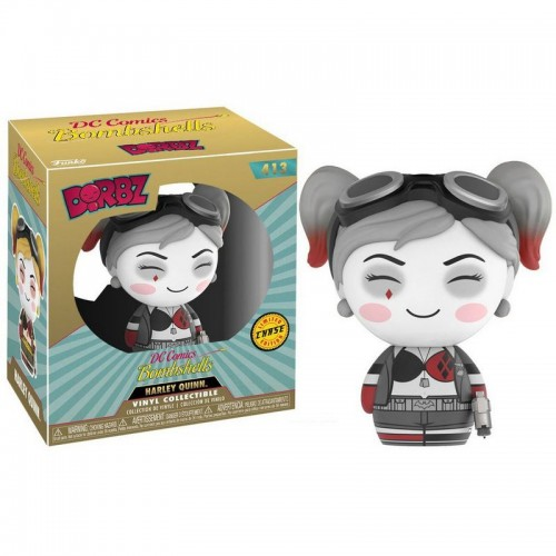 Funko Dorbz: DC Bombshells - Harley Quinn Chase / Фанко: Харли Квинн