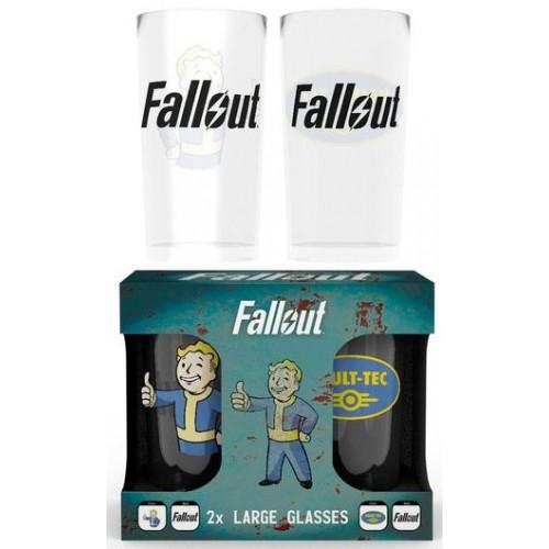 Подарочный набор GB eye Fallout - 2 Glasses