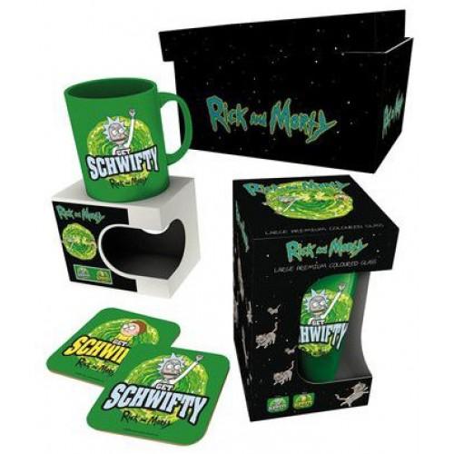 Подарочный набор GB eye Rick and Morty - Get Schwifty