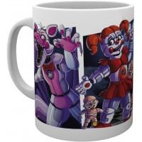 Чашка GB eye Five Nights at Freddy's - Sister Location Characters Mug