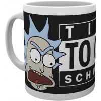 Чашка GB eye Rick and Morty - Time To Get Schwifty Mug