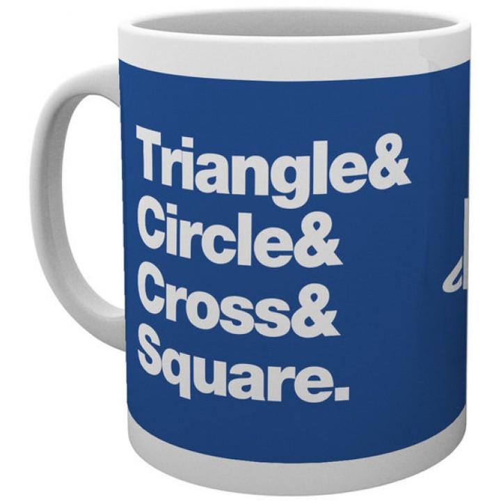 Чашка GB eye Playstation - Triangle-Circle-Cross-Square, MG2017