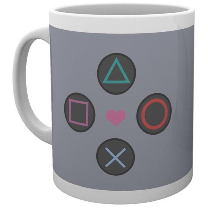 Чашка GB eye Playstation - Push My Buttons Mug, MG3003