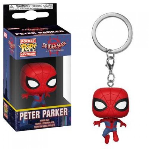 Funko Pocket Pop! Keychain: Animated Spider-Man - Spider-Man / Брелок Фанко Поп: Человек-паук