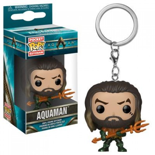 Funko Pocket Pop! Keychain: Aquaman - Aquaman / Брелок Фанко Поп: Аквамен