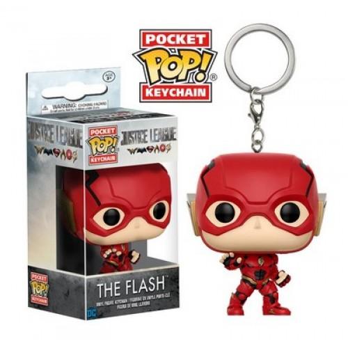 Funko Pocket Pop! Keychain: DC - Justice League - The Flash / Брелок Фанко Поп: Лига справедливости - Флэш