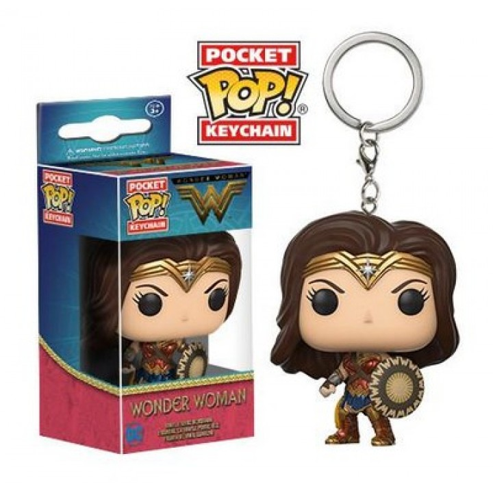 Funko Pocket Pop! Keychain: DC - Wonder Woman Movie - Wonder Woman / Брелок Фанко Поп: Чудо-женщина