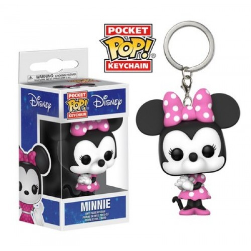 Funko Pocket Pop! Keychain: Disney - Minnie Mouse / Брелок Фанко Поп: Минни Маус