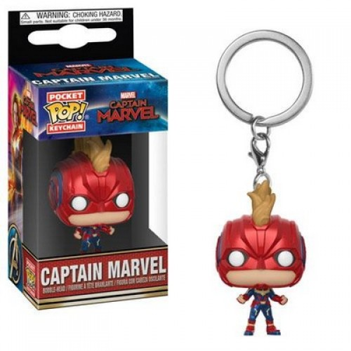 Funko Pop! Keychain: Captain Marvel - Captain Marvel / Брелок Фанко Поп: Капитан Марвел
