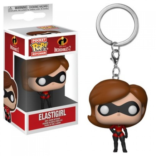 Funko Pocket Pop! Keychains: Incredibles 2 - Elastigirl / Брелок Фанко Поп: Суперсемейка 2 - Хелен Парр
