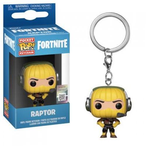 Брелок Funko Pop Keychain Fortnite - Raptor
