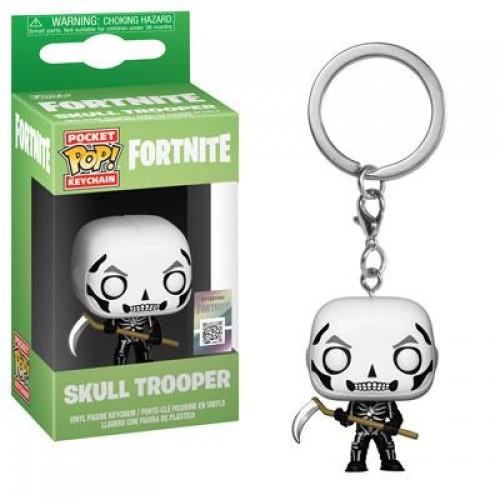 Брелок Funko Pop Keychain Fortnite - Skull Trooper