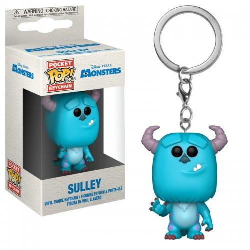 Funko Pocket Pop! Keychain: Monster's Inc. - Sulley / Брелок Фанко Поп: Корпорация монстров - Джеймс Салливан