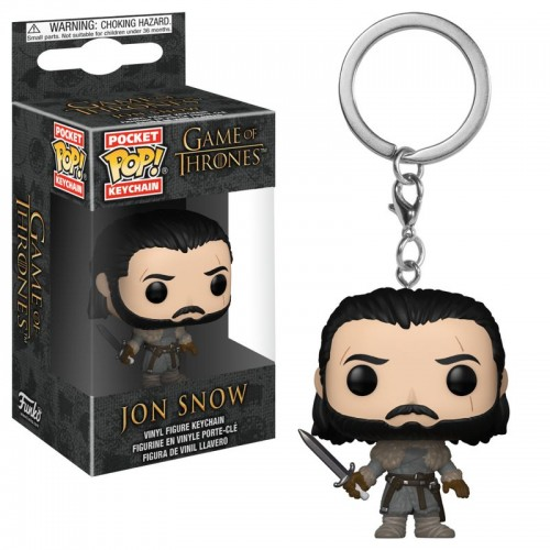 Funko Pocket Pop! Keychain: Game of Thrones - Jon Snow / Брелок Фанко Поп: Игра престолов - Джон Сноу