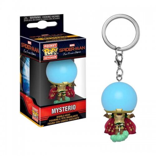 Брелок Funko Pop Keychain Spider-Man - Mysterio (Far from Home) / Фанко Поп Человек-паук - Мистерио (Вдали от дома)