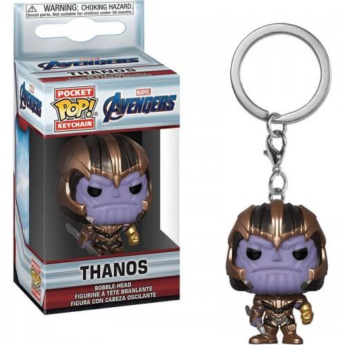 Funko Pop! Keychain: Avengers: Endgame - Thanos / Брелок Фанко Поп: Мстители: Финал - Танос