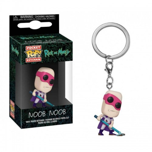 Брелок Funko Pop Keychain Rick and Morty - Noob-Noob