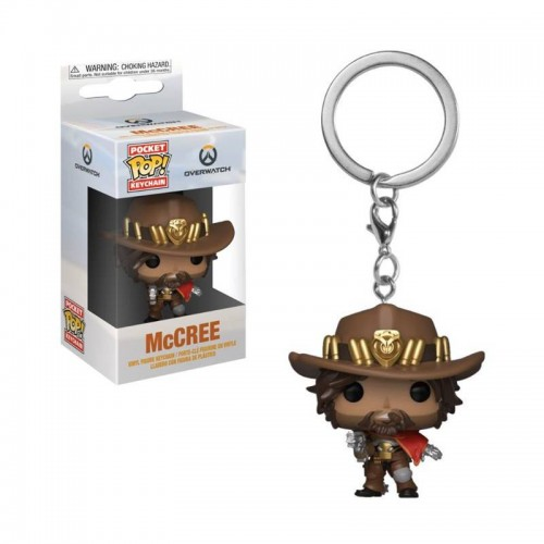 Брелок Funko Pop Keychain Overwatch - McCree