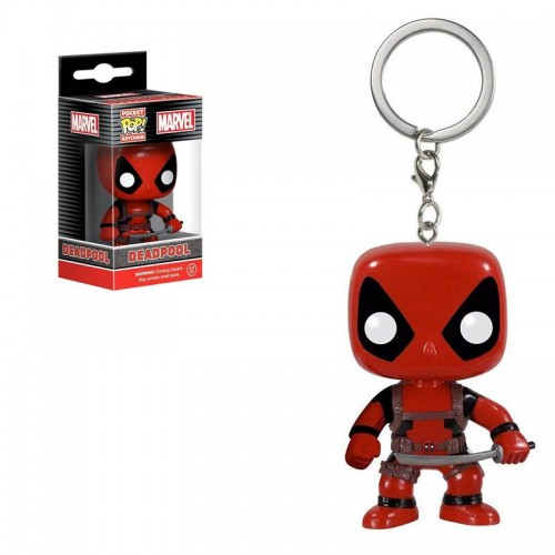 Брелок Funko Pop Keychain Marvel - Deadpool